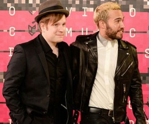 fall out boy, FOB, and mtv image