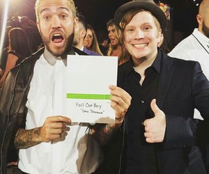 awards, pete wentz, and fall out boy image