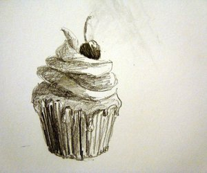 art, cupcake, and delicious image