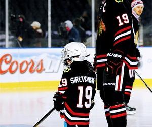 hockey, hockey players, and blackhawks image