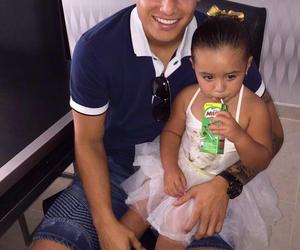 baby, girl, and james rodriguez image