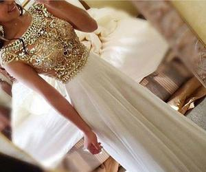 dress, Prom, and robe image