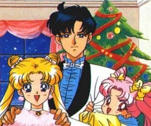 anime, prince endymion, and anime girl image