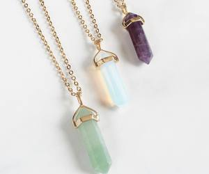 crystal, fashion, and necklace image