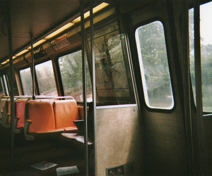 train, vintage, and bus image