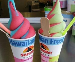 ice cream, food, and summer image