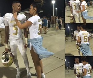 couple, Relationship, and football image