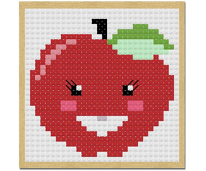 apple, red, and September image