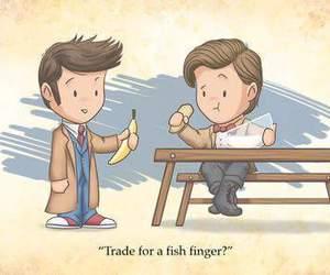 doctor who and banana image