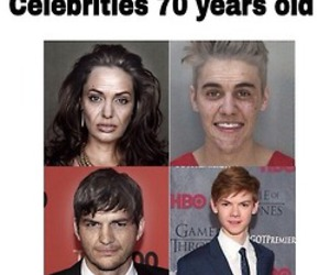 justin bieber, funny, and thomas sangster image