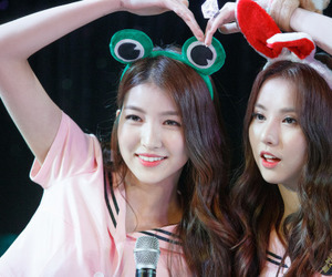 sowon, eunha, and gfriend image