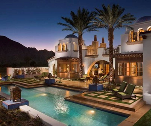 luxe, luxury, and mansion image