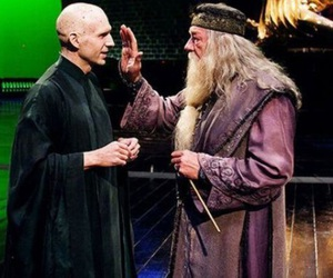 dumbledore and voldemort image