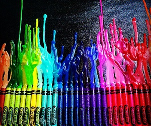 art, colours, and draw image