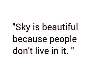 sky, beautiful, and people image