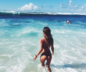 ass, summer, and waves image
