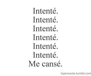 intente, try, and me canse image