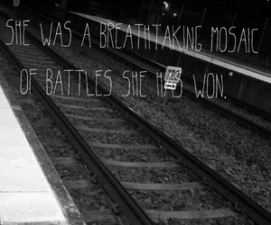 Battles, black and white, and breathtaking image
