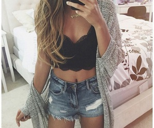 cardigan, clothes, and designs image