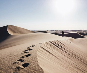 desert, sand, and sun image