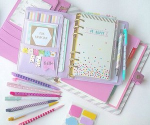 colors and notebook image