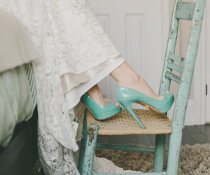shoes, dress, and heels image