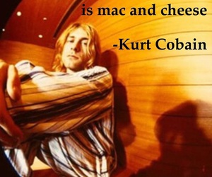 and, cheese, and cobain image