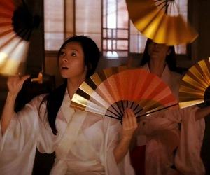 geisha, kyoto, and gion image