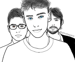 outline, outlines, and years&years image