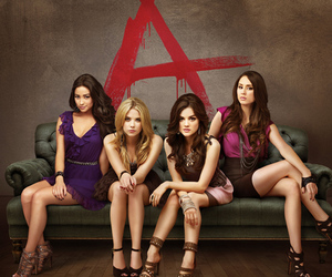 lucy hale, emily fields, and a image