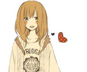 anime, girl, and peace image