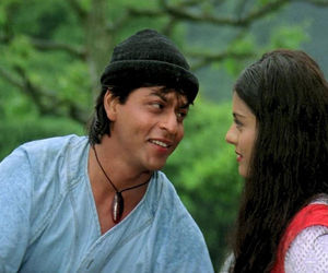 bollywood, shahrukh khan, and kajol image
