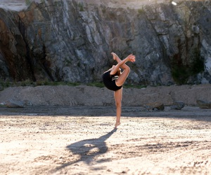 dance, gymnastic, and stretch image