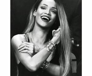 rihanna, smile, and riri image