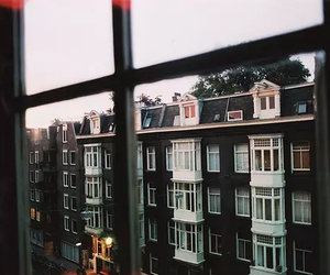 window, vintage, and city image