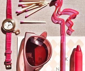 exercise, flamingo, and girl image