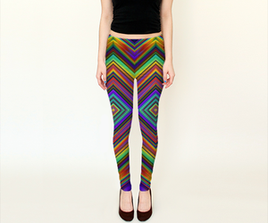 colorful, leggings, and vivid image