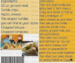 food, nachos, and naco image