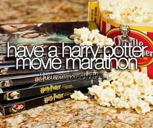 harry potter, movie, and Marathon image