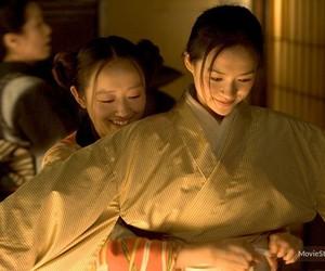 film, kimono, and pumpkin image