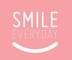 smile, happy, and pink image