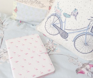 beauty, bedroom, and bicycle image