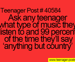 country, funny, and music image