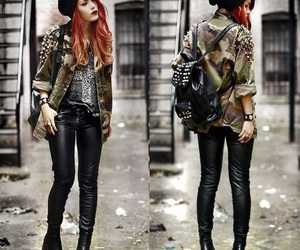 fashion, style, and rock image