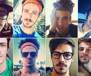 handsome, grant gustin, and Hot image