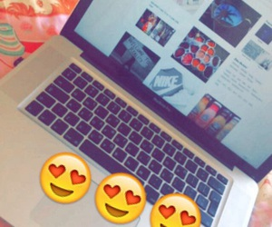 apple, Mac Book Pro, and we heart it image