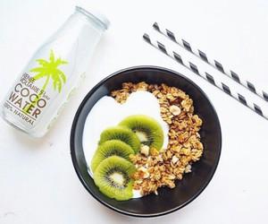 food, healthy, and kiwi image