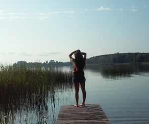 myparadise, luv this place, and lake and me image
