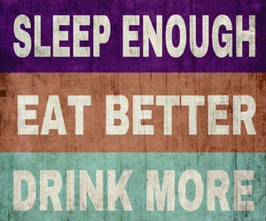 fitness, eat, and drink image