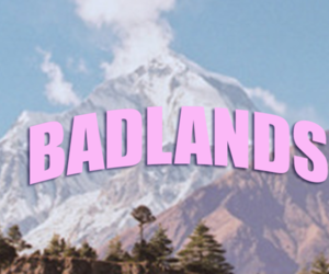 header, badlands, and halsey image